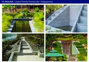 water feature gidgegannup lake engineering
