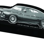 xb gt falcon headstone carved memorial