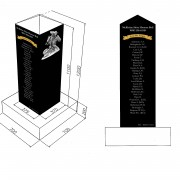 war memorial mckinlay mockup granite laser etched