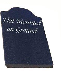 mini headstone flat