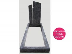 full monument modern design kerbs