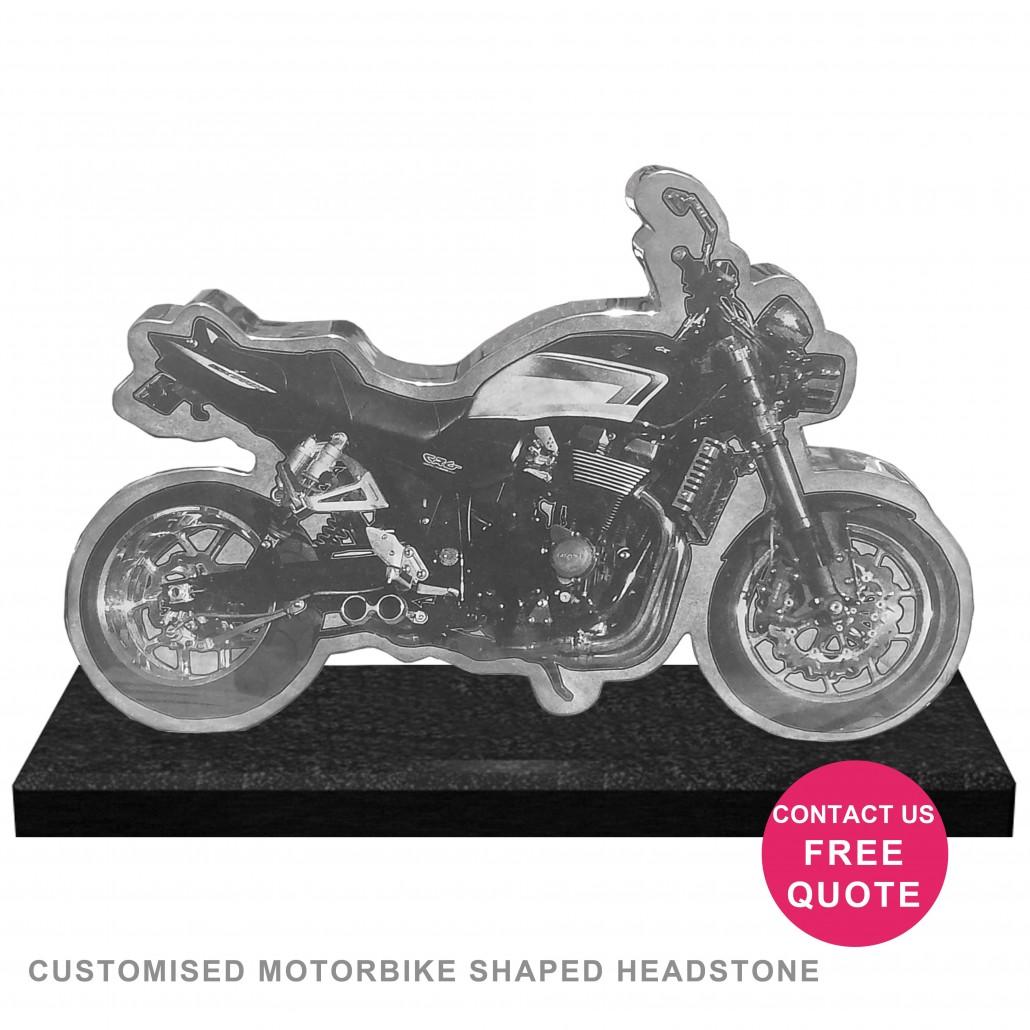 motorcycle headstone suzuki