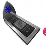 Stainless Steel mini monument mockup