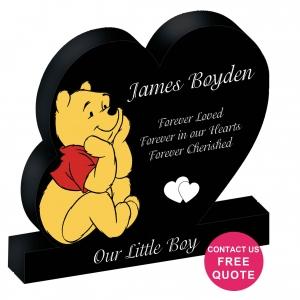 winnie the pooh headstone kids