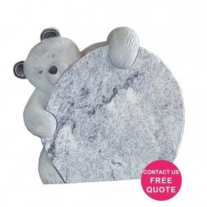 polar bear headstone