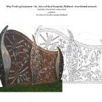 wayfinding sculpture St John of God