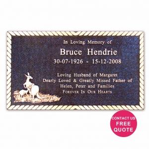 bronze plaque with bas relief