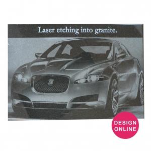 Laser Etched Granite Plaque