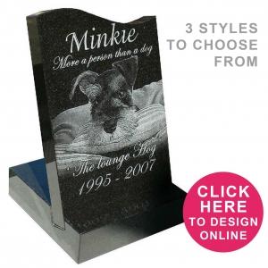 Pet mini headstones