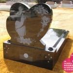 twin heart desert memorial indigenous with flowerpots