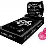islander memorial with Laser Etching