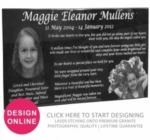 Design granite plaques online