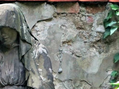 Carved Granite Statue Traditional memorial
