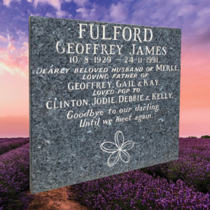 Buy Traditional Memorial Engraved Plaque