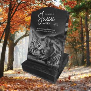 Buy Laser Etched Black Granite Pet Mini Headstone